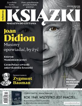 KSIĄŻKI. MAGAZYN DO CZYTANIA 01/2021
