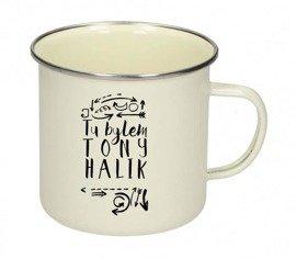 """Kubek """"Tu byłem. Tony Halik"""""""